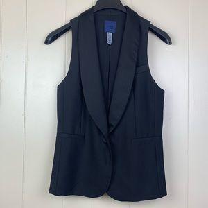 J. CREW   Wool/Silk Tuxedo Vest  - 8